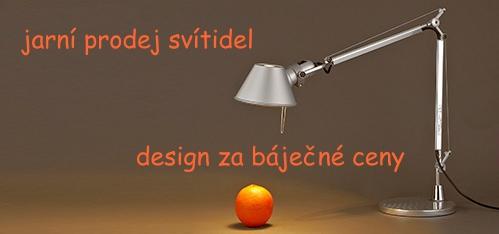 Jarní prodej designových svítidel za báječné ceny ~ přijďte si vybrat z mnoha typů a barev